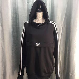 Adidas must have 3 stripes black hoodie